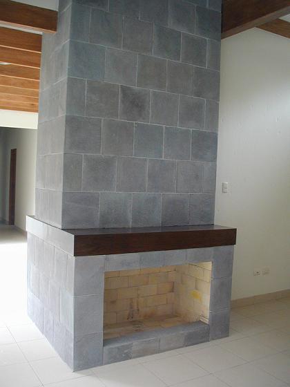 Chimenea Granitica Rocalisa Piedras Para Decoracion 100 Naturales - Chimeneas-forradas-de-piedra